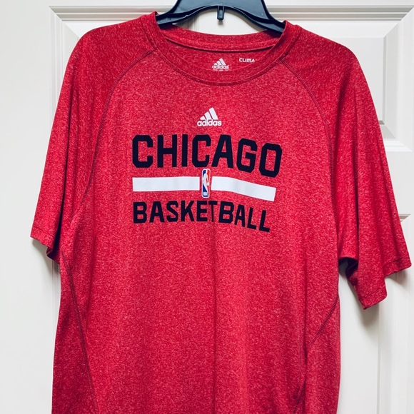 adidas Other - ADIDAS Chicago Basketball Climalite M Red